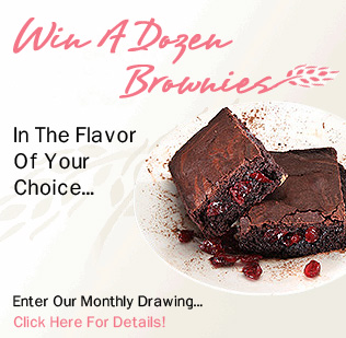 Enter our monthly contest to win a dozen brownies!